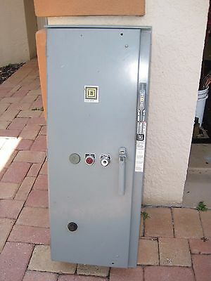 """Square D  100A Motor Starter Disconnect Combination """"enclosure Only"""" 8538Sea21"""