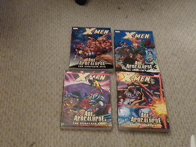 Marvel X-Men: The Complete Age of Apocalypse #1 #2 #3 #4 New Mint Cond. TP