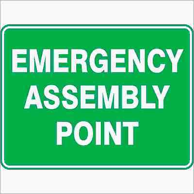 Safety Sign - EMERGENCY ASSEMBLY POINT