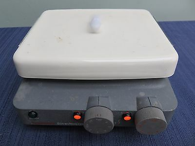 "Corning PC-320 Magnetic Laboratory Hotplate Stirrer 7""x6"" GUARANTEED"