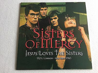 Sisters Of Mercy - Jesus Loves The Sisters - Rare Red Vinyl Live 1983, Ltd  100