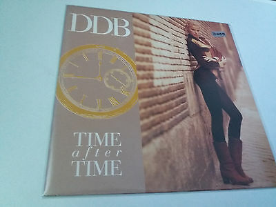 "Ddb ""time After Time"" Maxi 12"" Ex/ex"