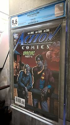 ACTION COMICS #869 CGC 9.6 BEER Recalled Variant Cover