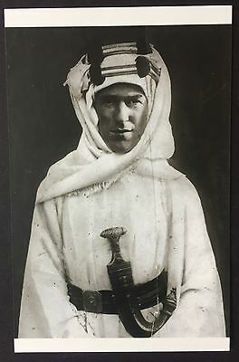 POSTCARD Modern Classics T.E. LAWRENCE Portrait WRITER Author NEW Arabia 028