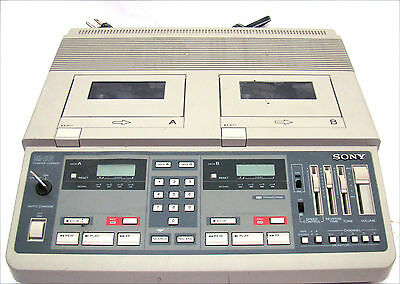 SONY 4 Track BM-246 Court Conference Recorder Transcriber with Key