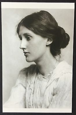 POSTCARD Modern Classics VIGINIA WOOLF Portrait WRITER Author NEW 046