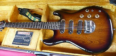 Greco GOII750 Fujigen Japan Vintage Set Neck 1979 Sunburst+Hard Case
