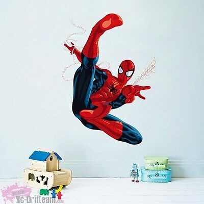 Vinilos Decorativos 3D Spiderman. Wall Stickers Vinyl Decal Bedroom