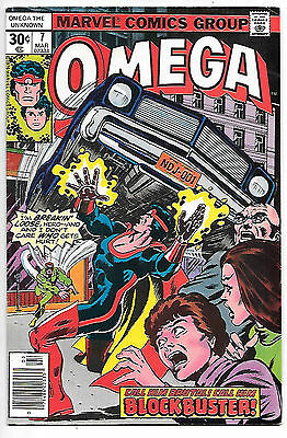 Omega the Unknown #7 (1977 Marvel; vf+ 8.5)