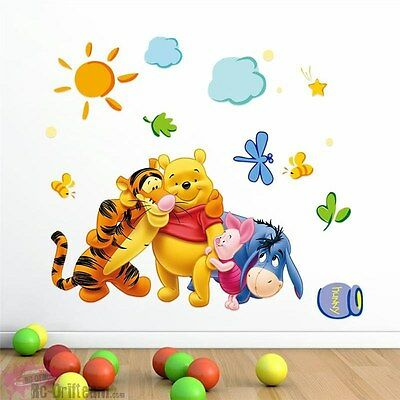 Vinilos Decorativos Winnie the Pooh y amigos. Wall Stickers Vinyl Decal