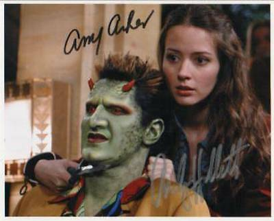 BUFFY ANGEL AMY ACKER FRED ANDY HALLETT LORNE hand signed