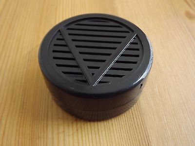 """Other Quality Importers Black Round Cigar Humidor Humidifier 2 1/4 """" X 1 """""""