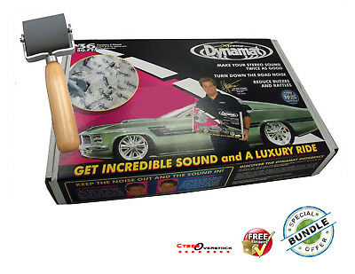 NEW DYNAMAT x10455 XTREME SOUND DAMPENING BULK PACK 9 SHEETS 36 SQ FT