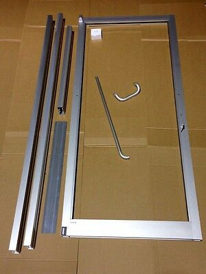 Commercial Storefront Door 3X7 Anodized With Non-Transom Frame & Glass Included!