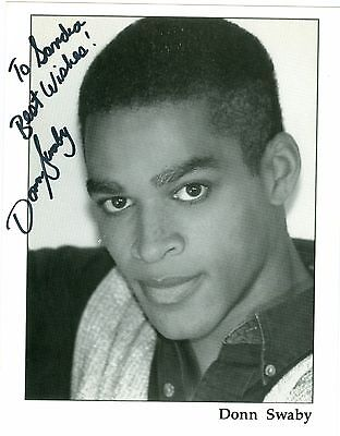 Donn Swaby autograph hand signed photo Passions don