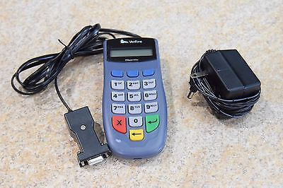 Verifone Pin Pad 1000se with Serial Interface POS / Comes with Charger & Wire