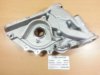 Hyundai Santa Fe 2.2L 2006 - 2009 Genuine Brand New Diesel Engine Oil Pump