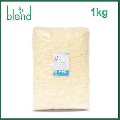 Magnesium Chloride - 1kg White Flakes PURE Quality Therapeutic Multipurpose