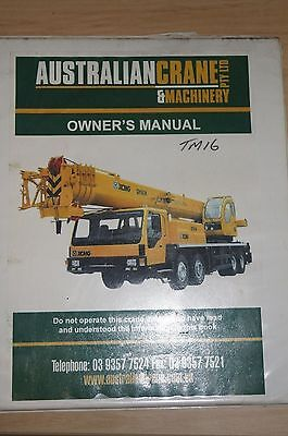 XCMG Crane Owners Manual QY60K Model