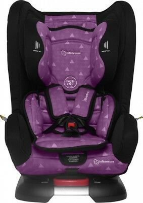 Infasecure Quattro Treo Convertible Car Seat 0 To 4yrs Purple Swirl