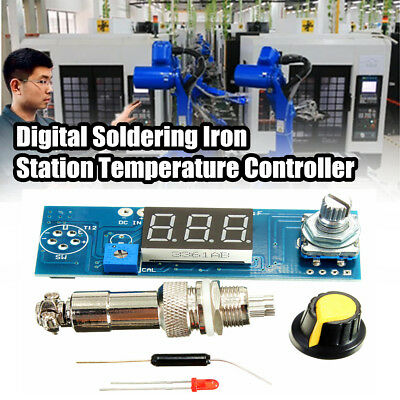 Digital Soldering Iron Station Temperature Controller Board for HAKKO T12 Handle