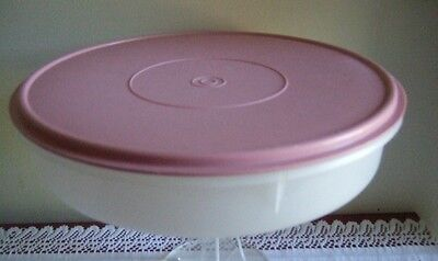 Tupperware B2B Large Round Cake,cup Cake,saus Roll , Pie, Pizza & Pastry Taker