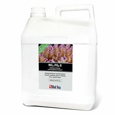 Red Sea Nitrate No3 And Phosphate Po4 Reducer 5L Marine Fish Tank Supplement
