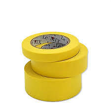 """High Temp Masking TAPE Automotive 12 ROLLS 18mm (3/4"""") Wrapping High Temperature"""