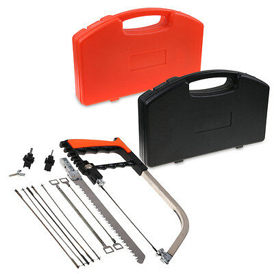 Universal Saw Frame Hand DIY Home Tools Set Steel Glass Wood Working Cutting New