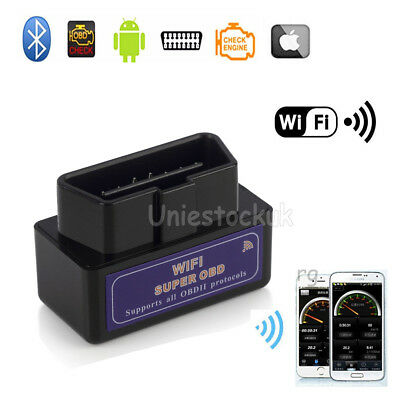 WiFi OBD2 OBDII Car Diagnostic Wireless Scanner Tools for iPhone iOS iPod ELM327