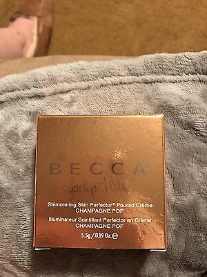 BNIB Becca Jaclyn Hill Champagne POP Shimmering Skin Perfector Poured Creme