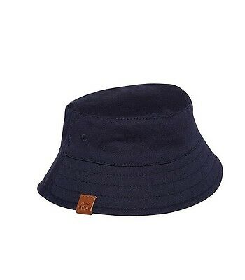 New Navy Blue Baby Bucket Hat Size 6-12 Months Little Dude. From F & F