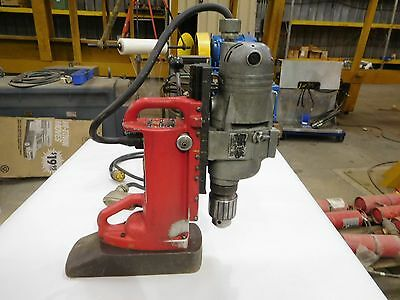Used, Milwaukee Magnetic Drill Press,  # 4292-1  120V. 2-Speed  375-750 Rpm