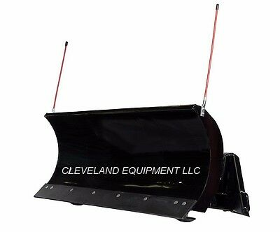 """96"""" PREMIER SNOW PLOW ATTACHMENT Skid-Steer Loader Angle Blade Terex New Holland"""