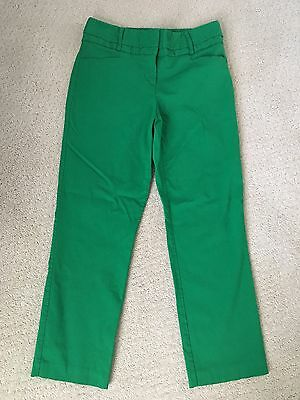 Worthington Modern Fit Women's Crop Pants Kelly Green~Size 4
