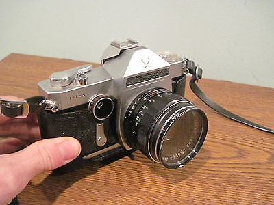 Vintage Sears TLS camera with 1:1.7 f=50mm  lens and holder