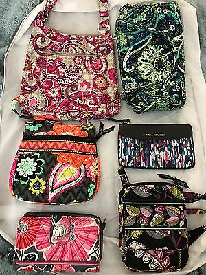 NWOT Lot of 10 Vera Bradley Purses Wallets Zip Pouches New Never Used
