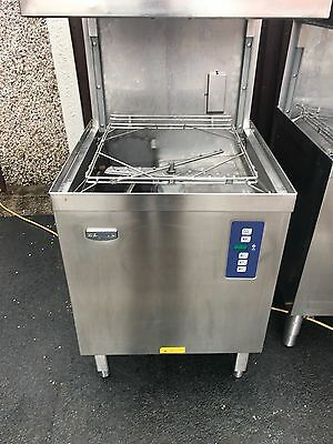 Electrolux pass through/passthrough dishwasher. Commercial