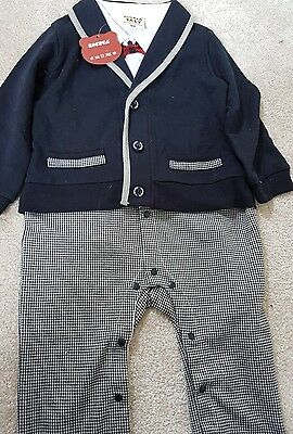 BNWT 12-18 months zoerea baby all in one suit outfit