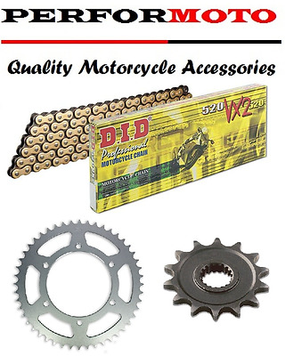 DID 520 Pitch Chain And Sprocket Kit Honda CBR500 R  D-G 13-16
