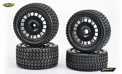 Carson All Terrain 2WD Reifen-Set (4) 1:10 500900134 für Fighter Buggy