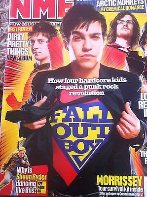 NME APRIL 2006 - FALL OUT BOY dirty pretty things ARCTIC MONKEYS my chemical rom