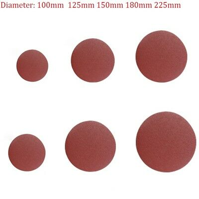 10Pcs Hook And Loop Sanding Discs 100mm-225mm Sandpaper 40-2000 Grit Sander Pads
