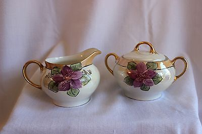 Creamer and Sugar Bowl by Z. S. & Co.