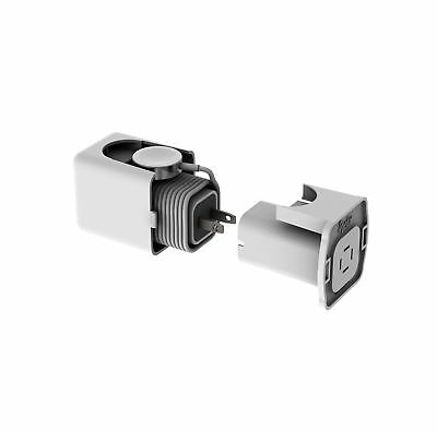 Helix Apple Watch Dock Housing for YOUR Charger and Cable (White)