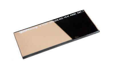 Lens Replacement Gold Welding Filter, 2-Inch-by-4-1/4-Inch, Shade-10