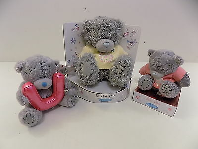 Me to you set of 3 bear / bears / teddy bear / gift best nan / special bab BN