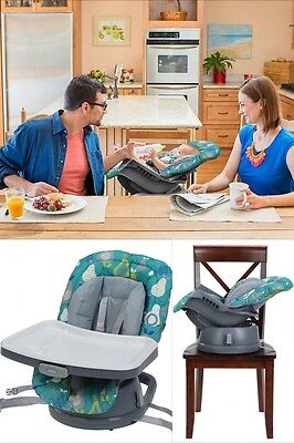 Baby High Chair 3 In 1 Toddler Infant Cradle Kids Booster Seat Feeding Highchair