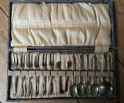 Old Silver spoons and forks set