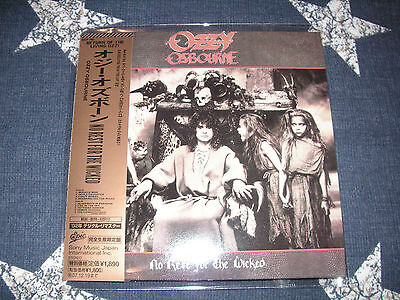 OZZY OSBOURNE - No Rest for the Wicked (1988) RARE JAPAN MINI LP CD!! *MINT*